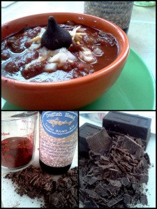 Beer Bacon Chocolate Chili receipe from www.eatliveblog.com