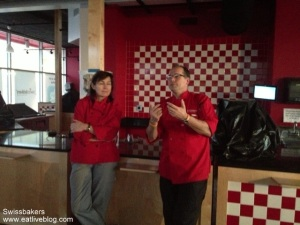 Helene & Thomas of Swissbakers