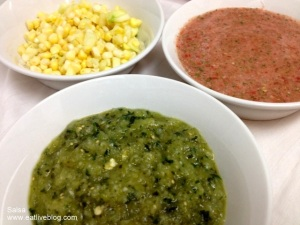 different types of salsa