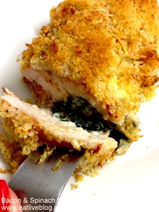Bacon stuffed chicken breast recipe