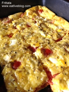 Easy to make brunch frittata recipe